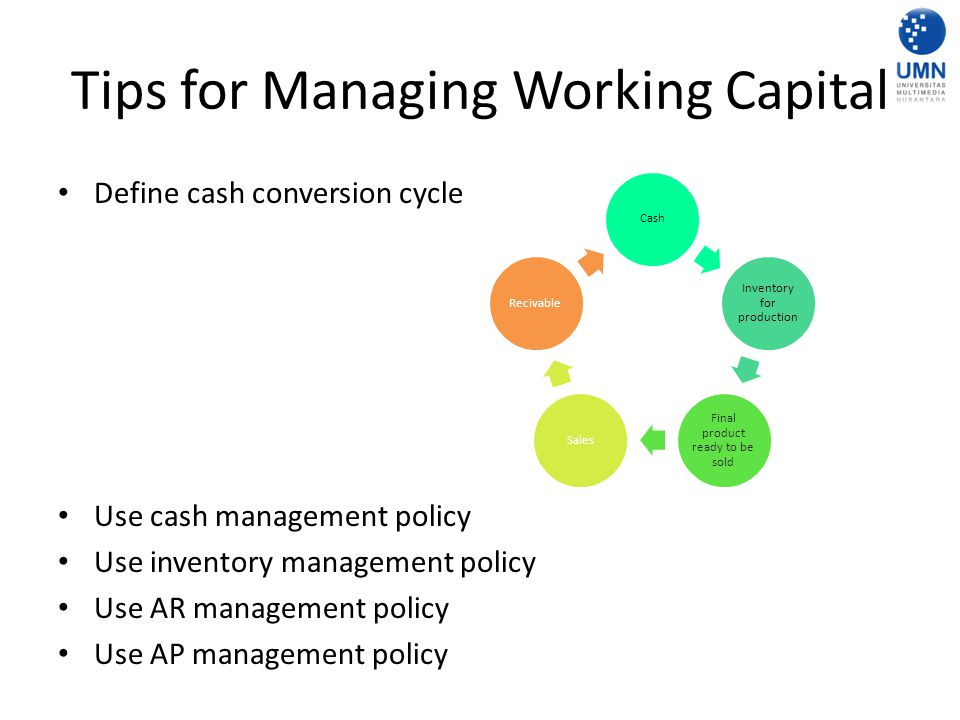 Tips for Managing Working Capital