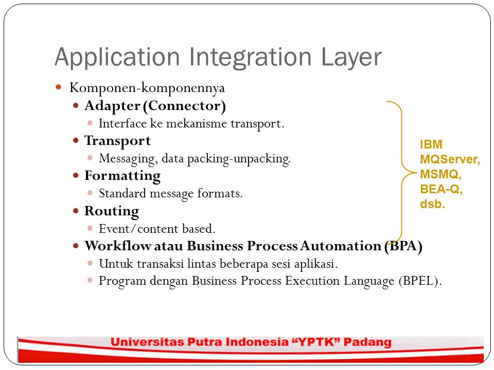 Application Integration Layer