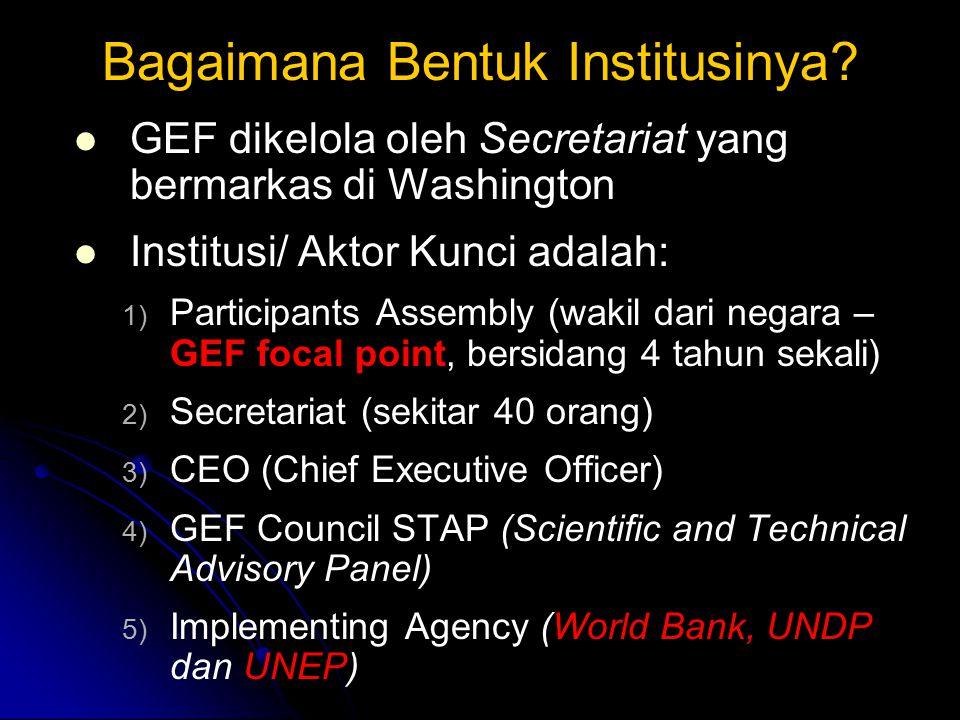 Bagaimana Bentuk Institusinya