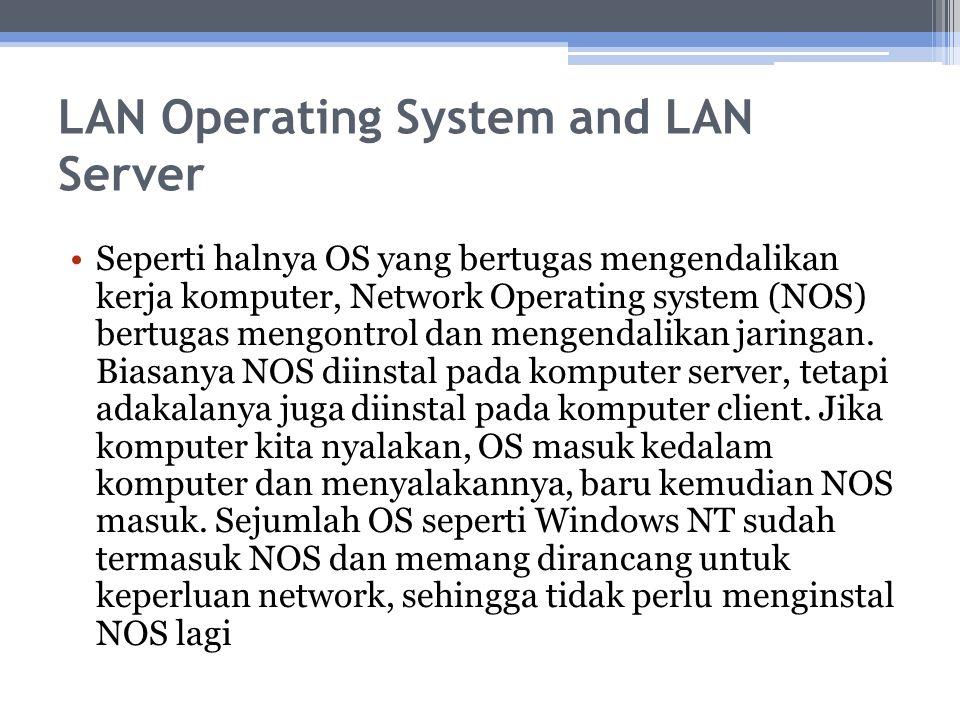 LAN Operating System and LAN Server