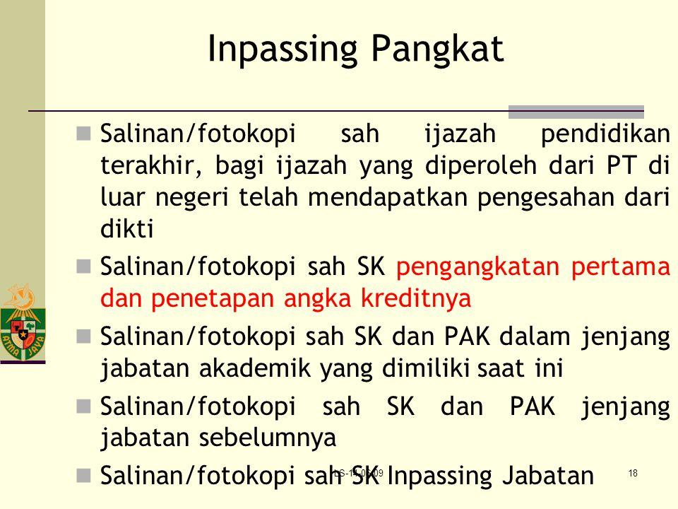 Inpassing Pangkat