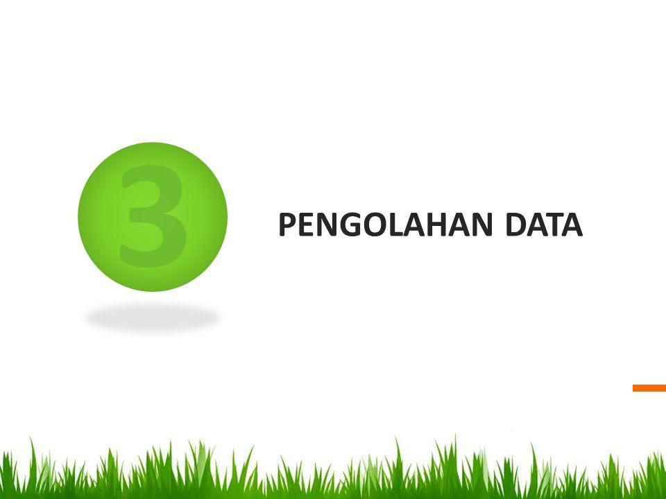 3 PENGOLAHAN DATA