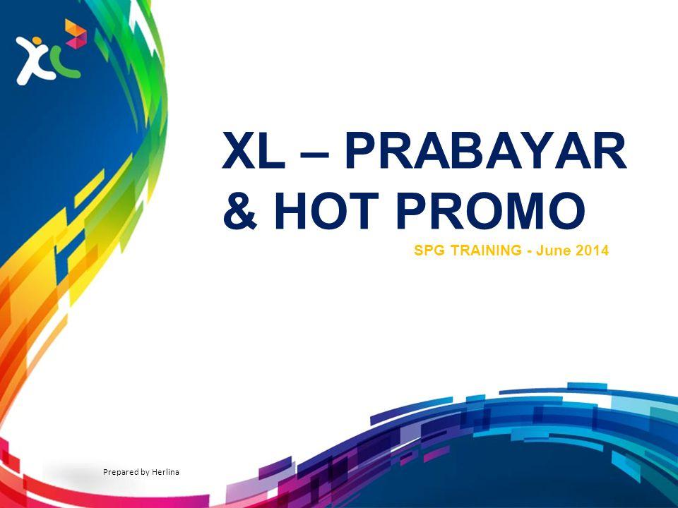 XL – PRABAYAR & HOT PROMO
