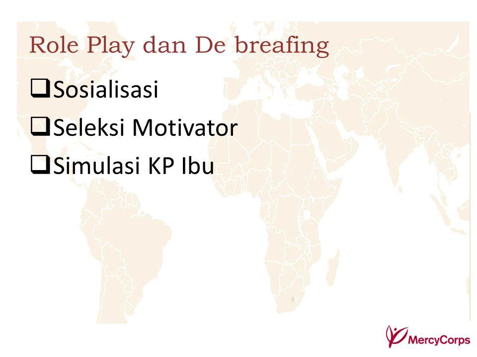 Sosialisasi Seleksi Motivator Simulasi KP Ibu