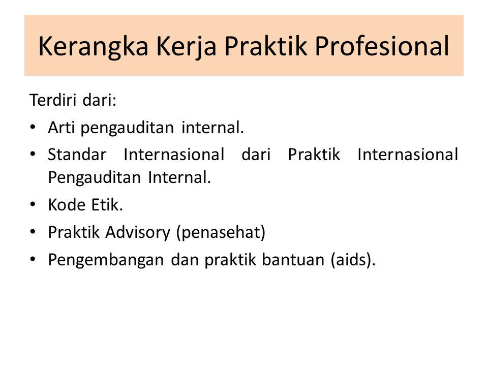 Kerangka Kerja Praktik Profesional