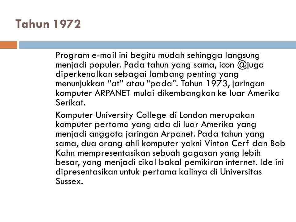 Tahun 1972