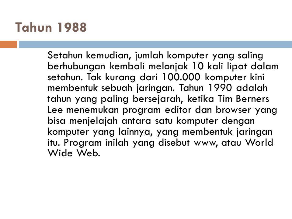 Tahun 1988