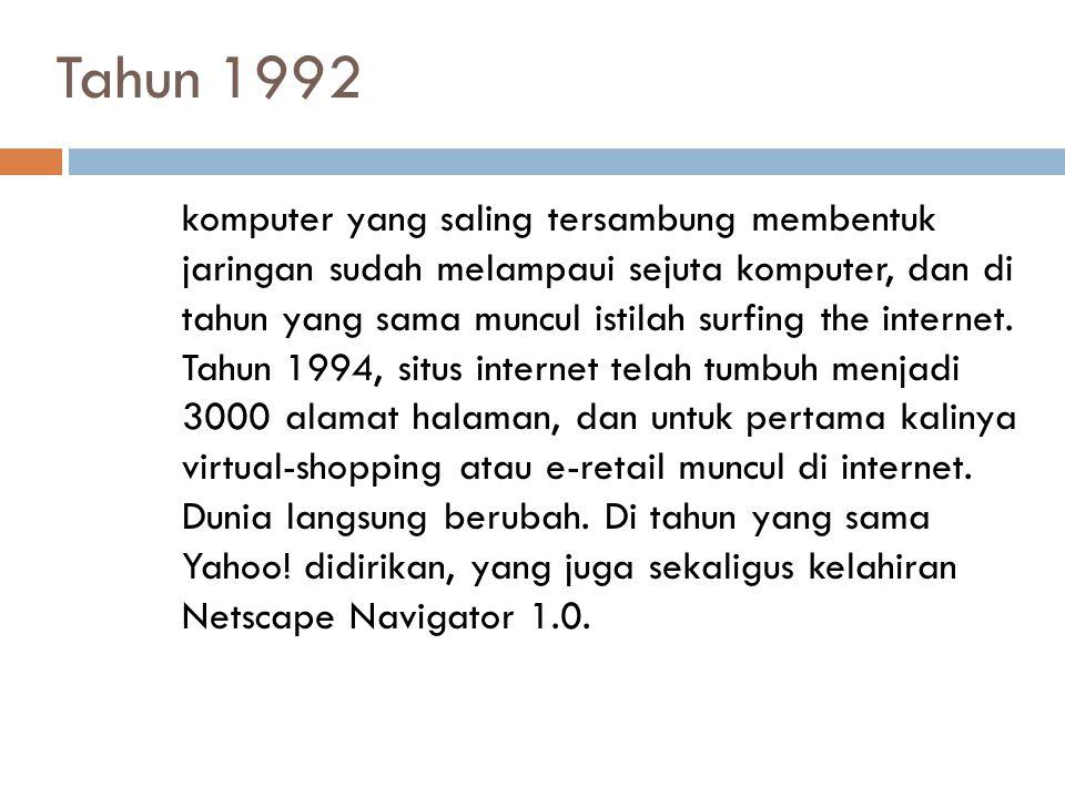 Tahun 1992