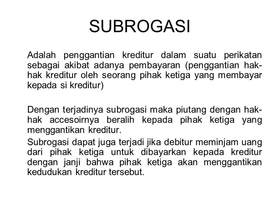SUBROGASI
