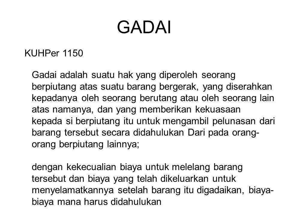 GADAI KUHPer 1150.