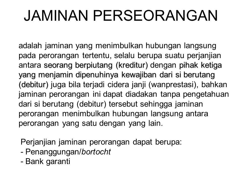 JAMINAN PERSEORANGAN