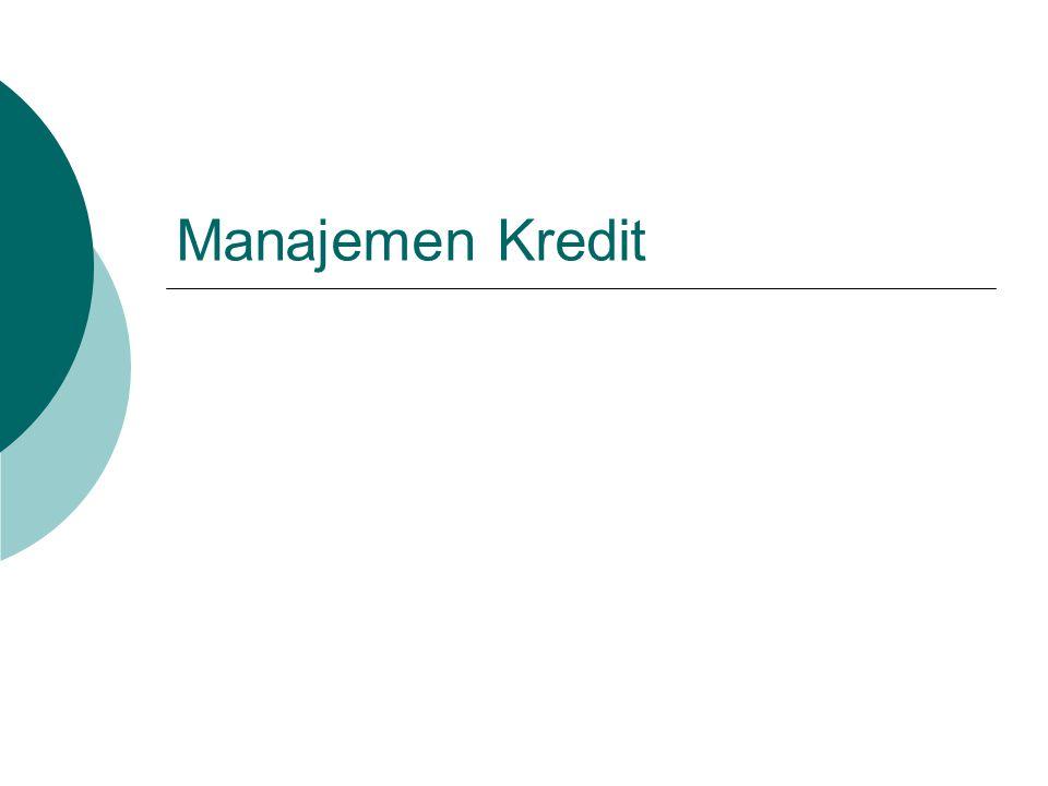 Manajemen Kredit