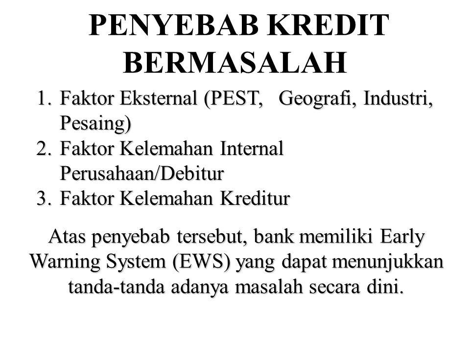 PENYEBAB KREDIT BERMASALAH