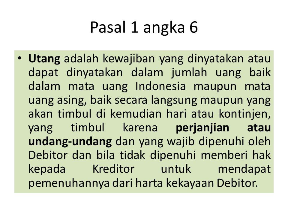 Pasal 1 angka 6