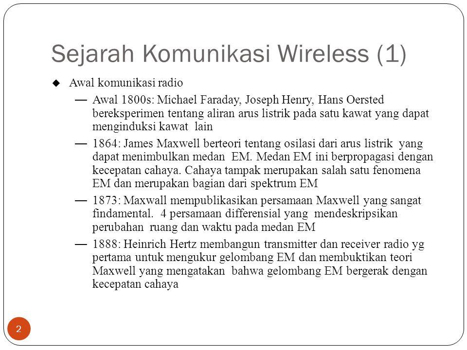 Sejarah Komunikasi Wireless (1)