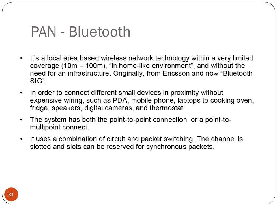 PAN - Bluetooth