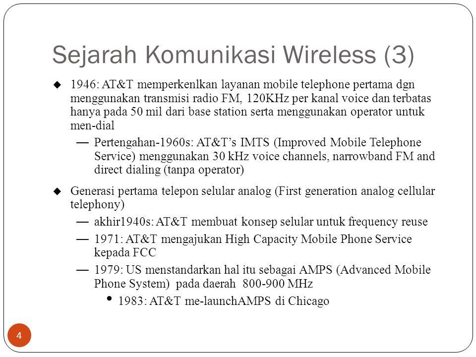 Sejarah Komunikasi Wireless (3)