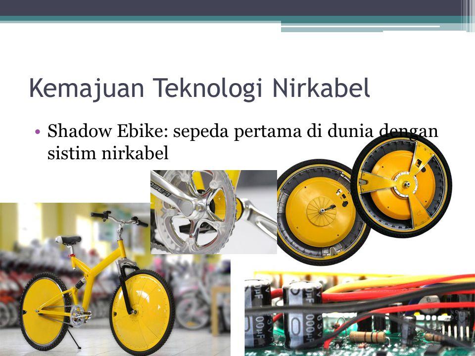Kemajuan Teknologi Nirkabel