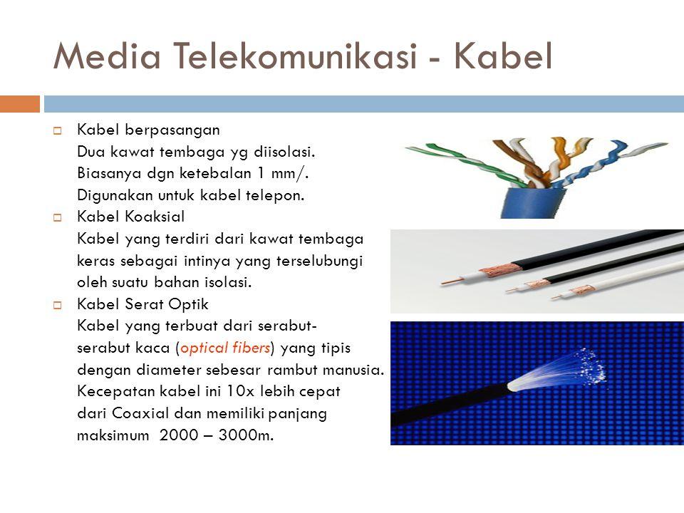 Media Telekomunikasi - Kabel