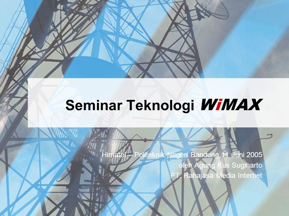 Seminar Teknologi WiMAX
