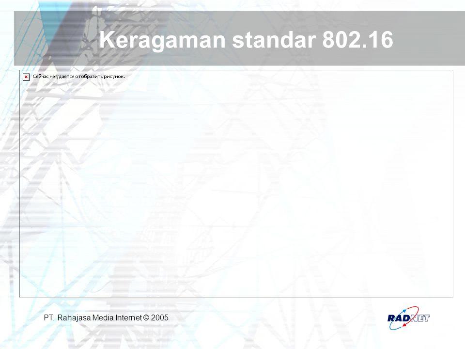 Keragaman standar 802.16