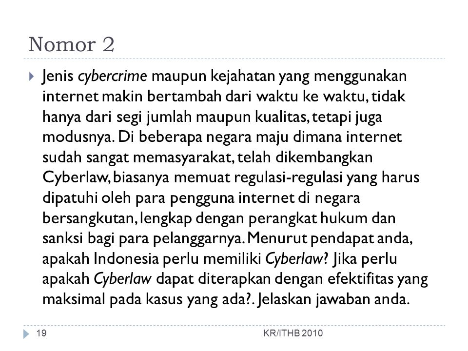 Nomor 2