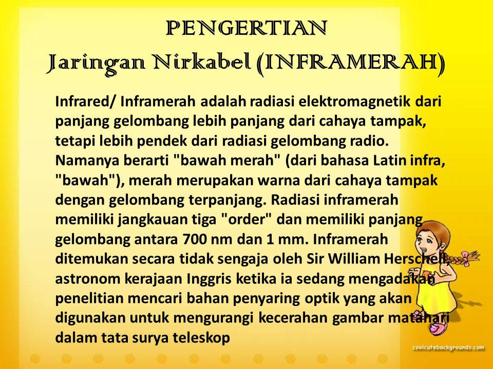 PENGERTIAN Jaringan Nirkabel (INFRAMERAH)