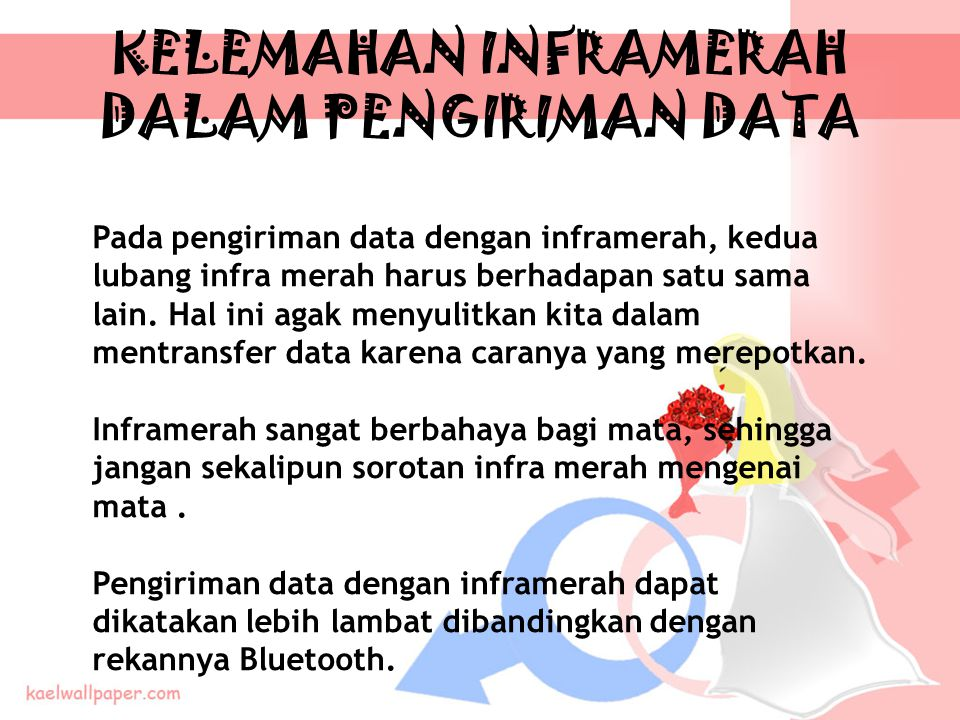 KELEMAHAN INFRAMERAH DALAM PENGIRIMAN DATA