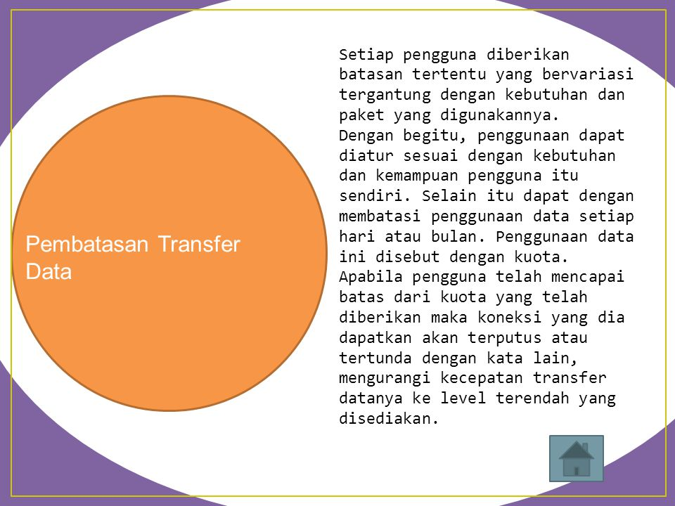 Pembatasan Transfer Data