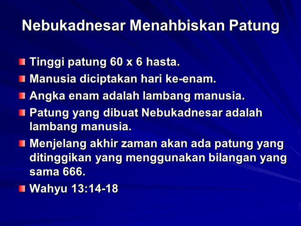 Nebukadnesar Menahbiskan Patung