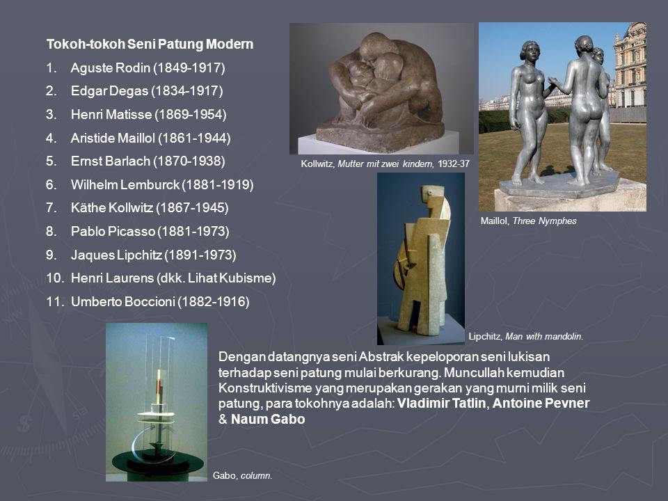 Tokoh-tokoh Seni Patung Modern Aguste Rodin (1849-1917)