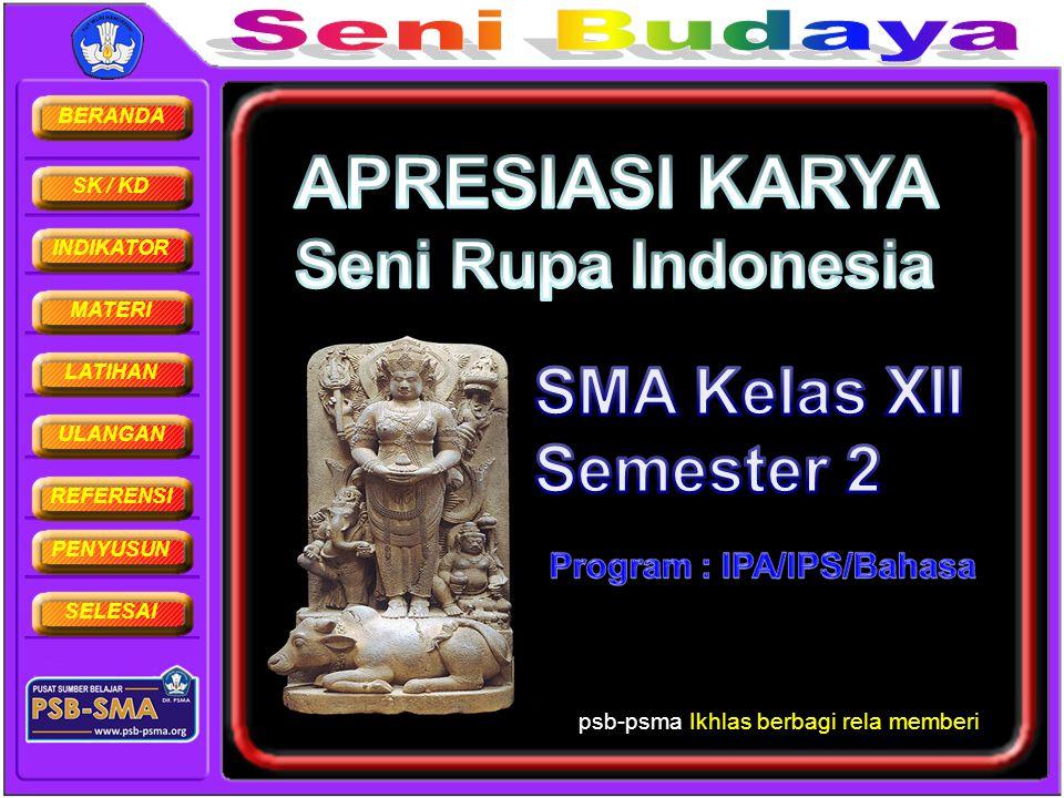 APRESIASI KARYA Seni Rupa Indonesia SMA Kelas XII Semester 2