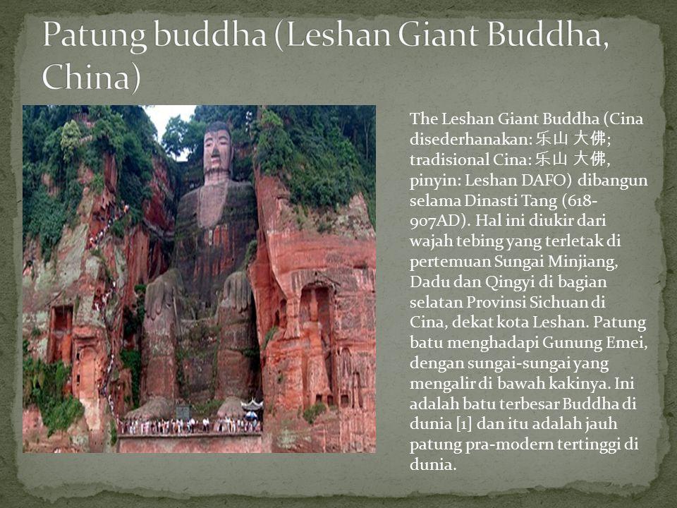 Patung buddha (Leshan Giant Buddha, China)