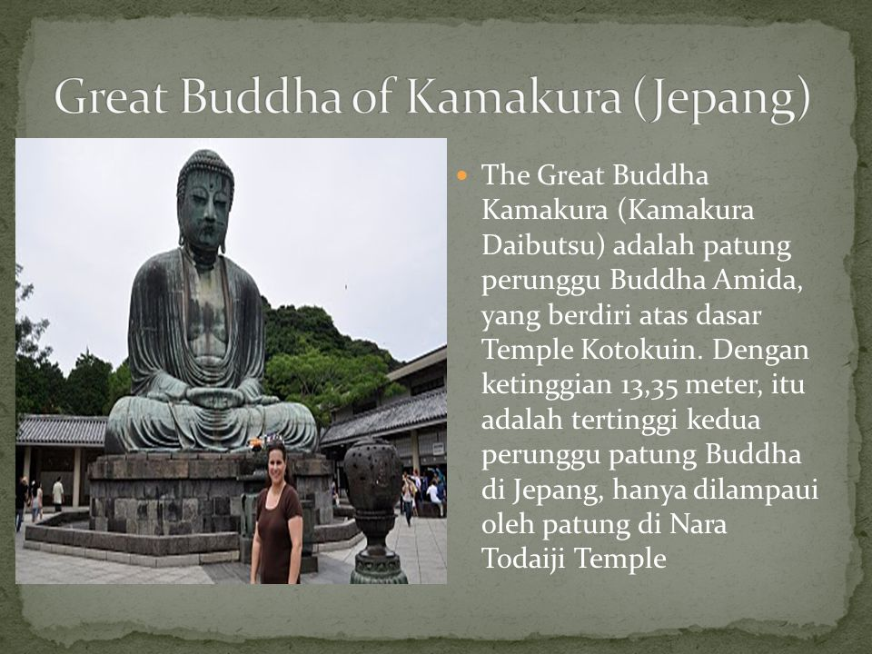 Great Buddha of Kamakura (Jepang)