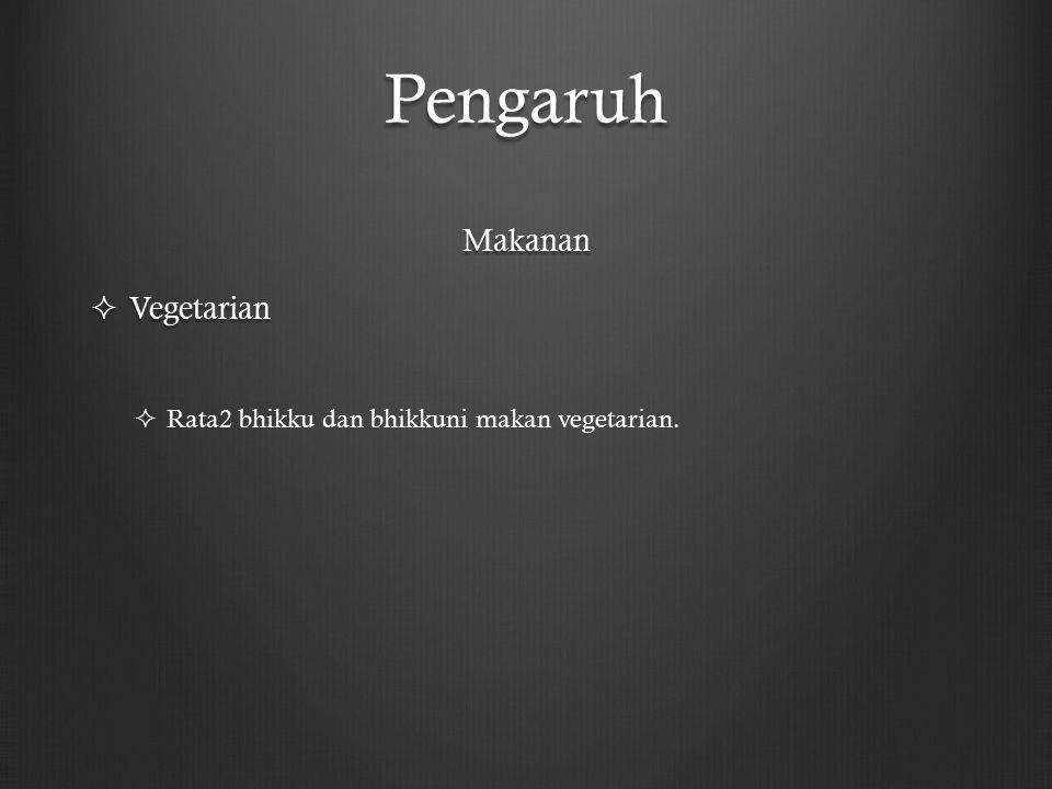 Pengaruh Makanan Vegetarian