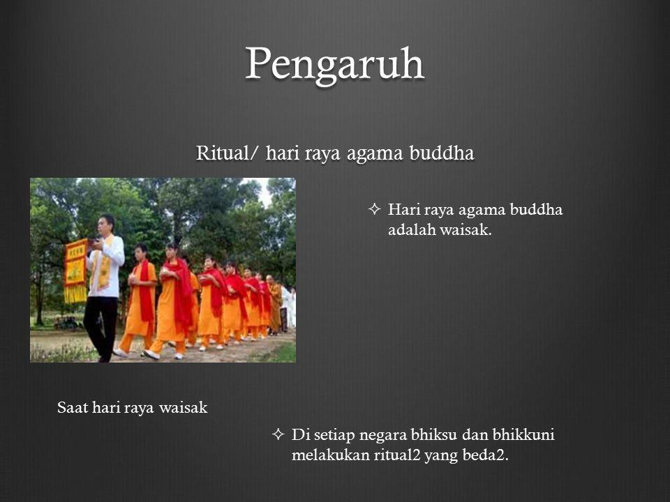 Ritual/ hari raya agama buddha