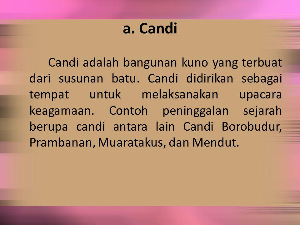 a. Candi