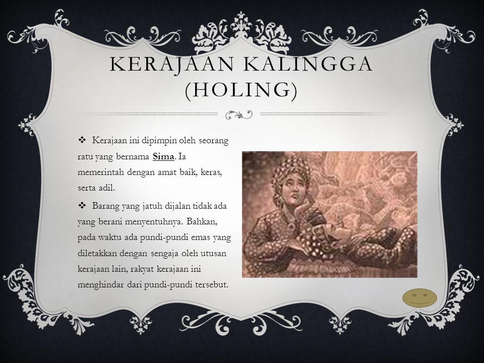Kerajaan Kalingga (Holing)