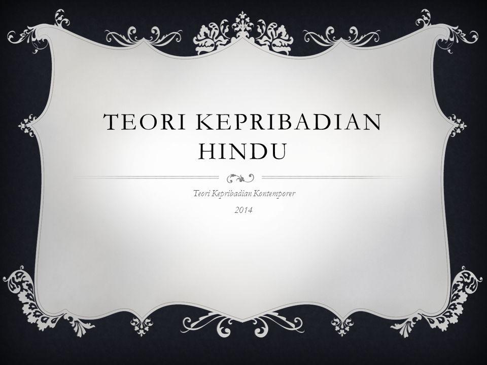 Teori Kepribadian Hindu
