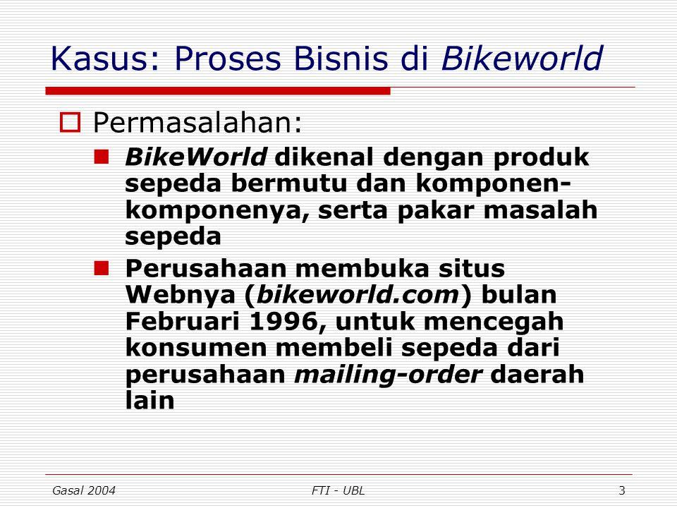 Kasus: Proses Bisnis di Bikeworld