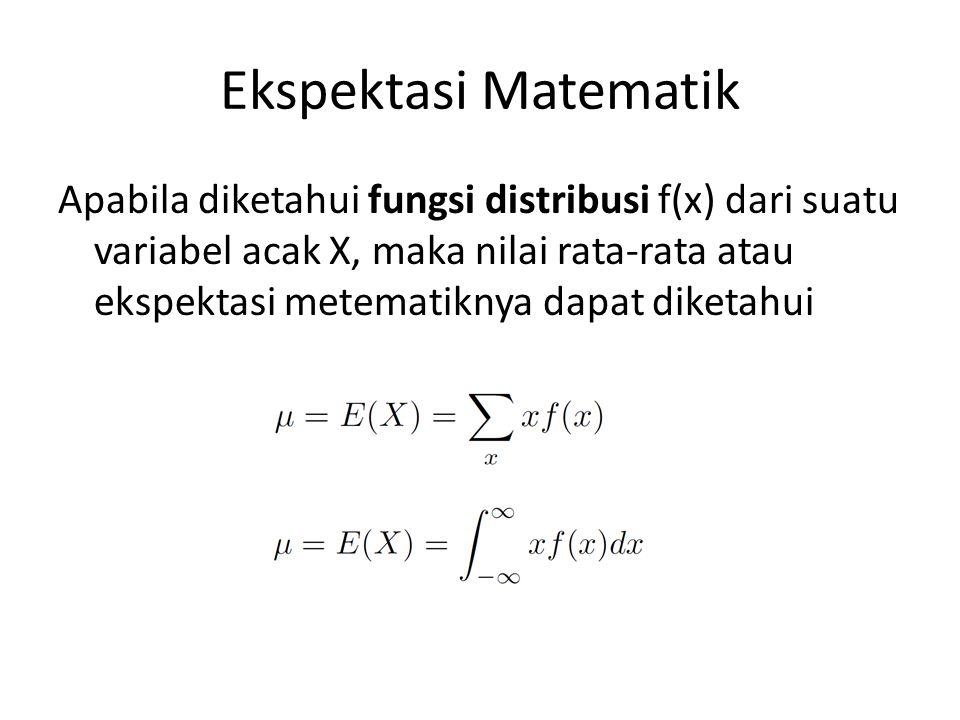 Ekspektasi Matematik