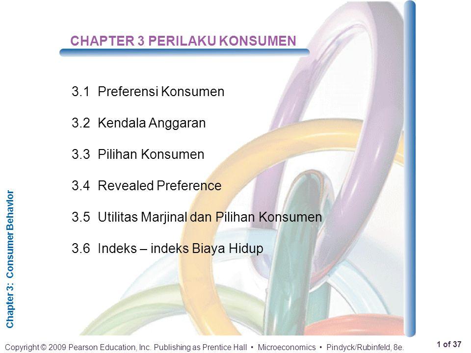 CHAPTER 3 PERILAKU KONSUMEN