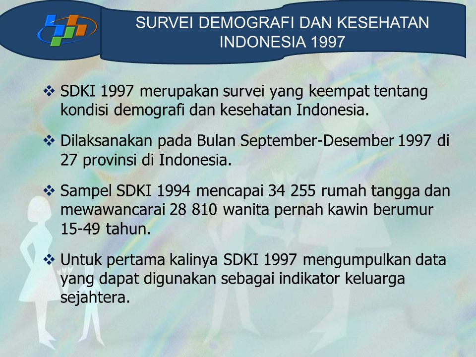 SURVEI DEMOGRAFI DAN KESEHATAN INDONESIA 1997