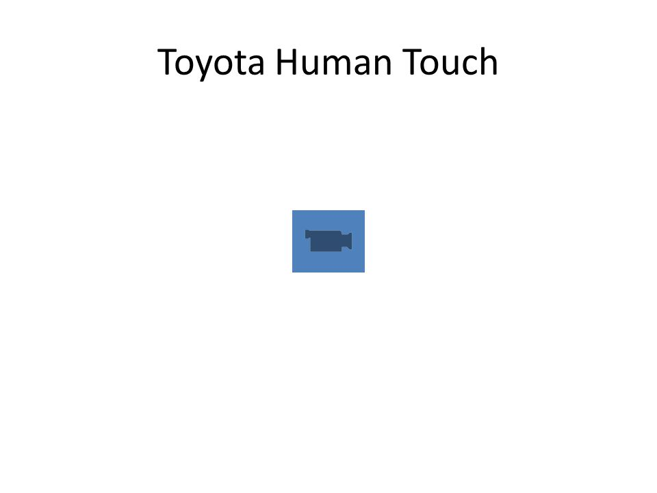 Toyota Human Touch
