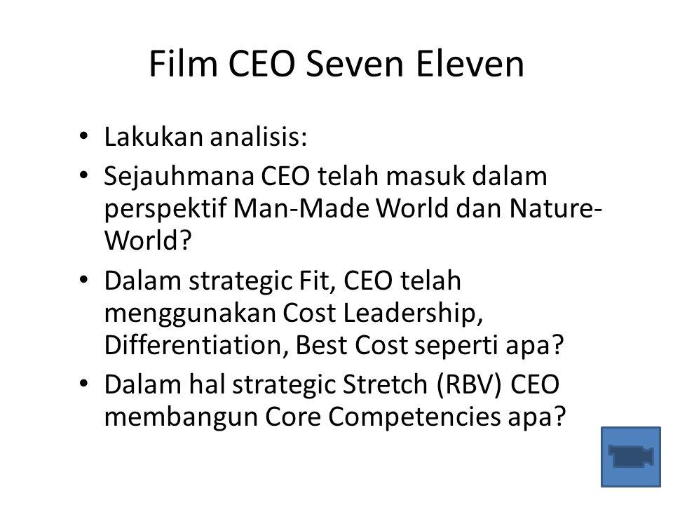 Film CEO Seven Eleven Lakukan analisis: