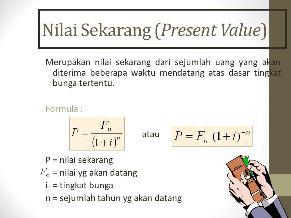 Nilai Sekarang (Present Value)