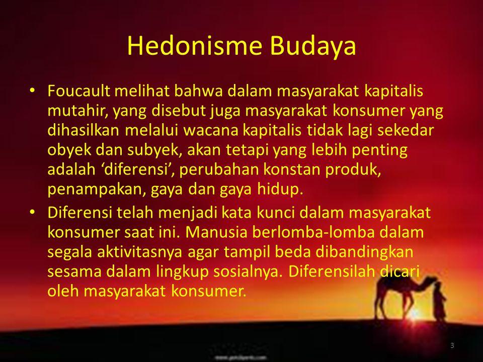 Hedonisme Budaya