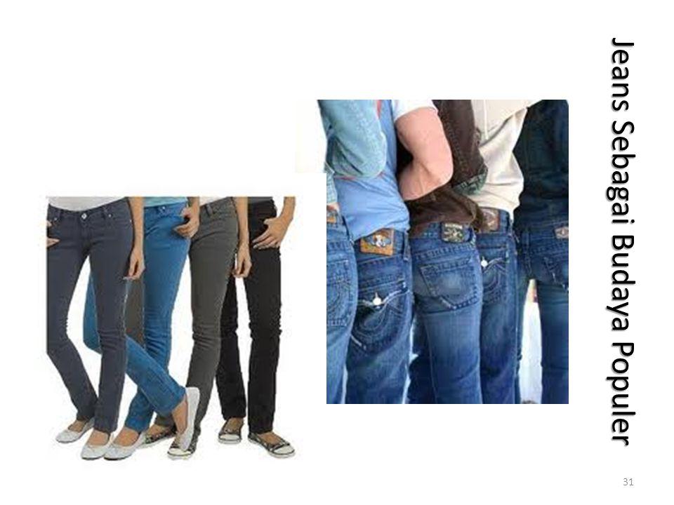 Jeans Sebagai Budaya Populer