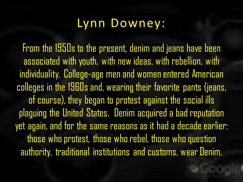 Lynn Downey: