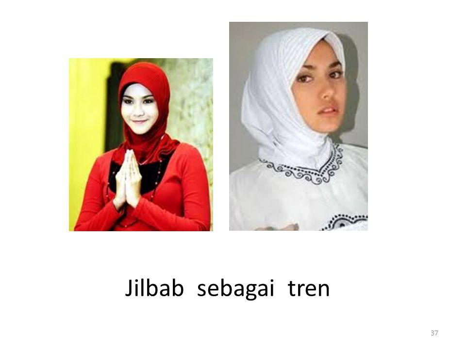Jilbab sebagai tren
